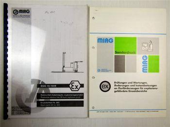 Miag EGG 10-15XE Elektro-Geh-Gabelstapler Ersatzteilliste