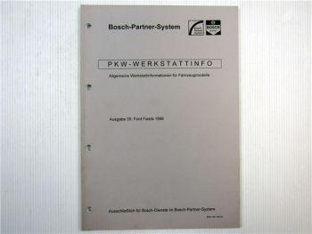 Ford Fiesta Bosch Dienst Elektrische Anlage Einstellwerte 1996
