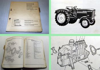 John Deere 300 Dieselschlepper Ersatzteilliste Parts Catalog 1963