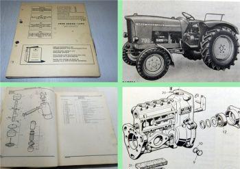 John Deere 700 Dieselschlepper Ersatzteilliste Parts Catalog 1965