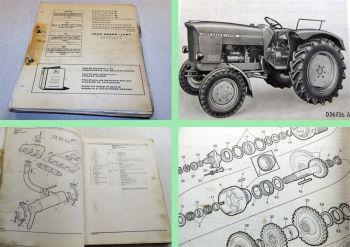 John Deere 300 Dieselschlepper Ersatzteilliste Parts Catalog 1965