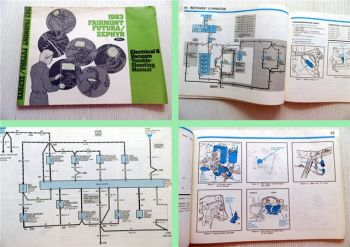 Ford Electrical & Vacuum Trouble Shooting Manual 1983 Fairmont Futura Zephyr