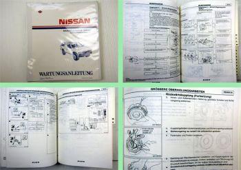 Werkstatthandbuch Nissan Terrano WD21 mit V6-Motor Reparaturanleitung 1988