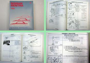 Nissan Sentra 1990 Werkstatthandbuch Service Manual