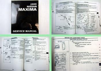 Nissan Maxima 1995 Werkstatthandbuch Service Manual