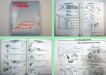 Nissan Axxess 1990 Werkstatthandbuch Service Manual Revised