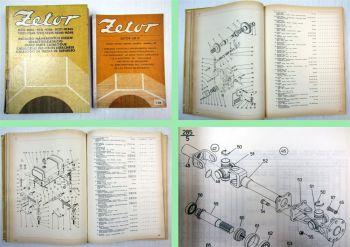 Zetor 8211 8245 9211  9245 10211 - 16245 Ersatzteilliste + Nachtrag 1988
