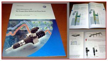 SSP 352 VW Passat B6 Pumpe Düse mit Piezo Ventil Selbststudienprogramm 2005