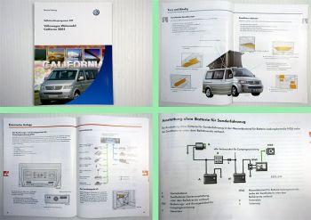 SSP 329 VW Bus T5 California Wohnmobil Transporter 2004 Selbststudienprogramm