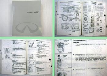Nissan Infiniti J30 Werkstatthandbuch Service manual 1995