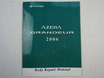 Body Repair Manual Hyundai Grandeur 2006 Reparaturhandbuch Karosserie