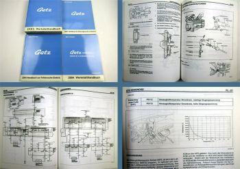Werkstatthandbuch Hyundai Getz Reparaturanleitungen 2002 bis 2005
