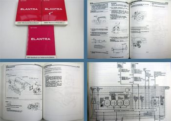 Werkstatthandbuch Hyundai Elantra XD ab 2004 Reparaturanleitung