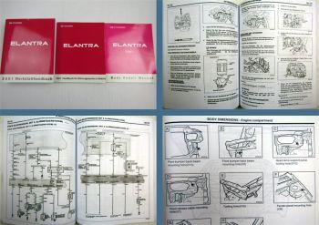 Werkstatthandbuch Hyundai Elantra XD ab 2000 2001 Reparaturanleitung