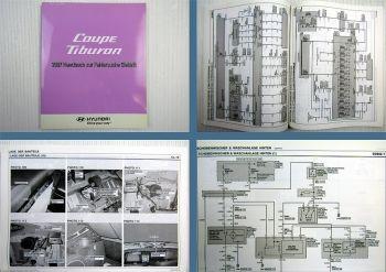 Werkstatthandbuch Hyundai Coupe Tiburon Elektrische Schaltpläne 2007
