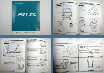 Hyundai Atos Body Repair manual Werkstatthandbuch Karosserie