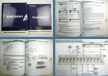 Werkstatthandbuch Hyundai Tucson 2006 Reparatur Ergänzung + Fehlersuche Elektrik