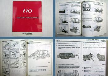 Werkstatthandbuch Hyundai i10 Body Repair manual 2008 Karosserie