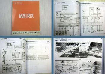 Werkstatthandbuch Hyundai Matrix Elektrische Schaltpläne 2002