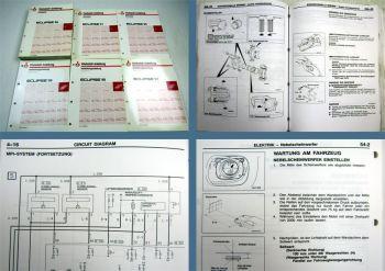 Werkstatthandbuch Mitsubishi Eclipse D30 ab 1996 - 1999 Reparaturanleitung