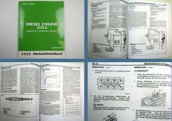 Werkstatthandbuch Hyundai Matrix D3EA Dieselmotor Reparaturanleitung MJ 2002