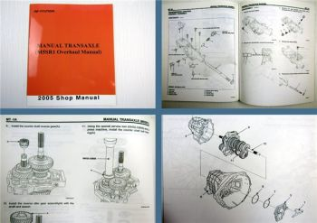Shop Manual Hyundai Manual Transaxle M5SR1 Overhaul 2005