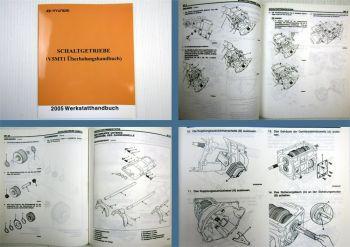 Werkstatthandbuch Hyundai Terracan V5MT1 Getriebe Überholung 2005