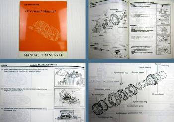Hyundai Manual Transaxle Schaltgetriebe Atos Accent Sonata XG Coupe Elantra