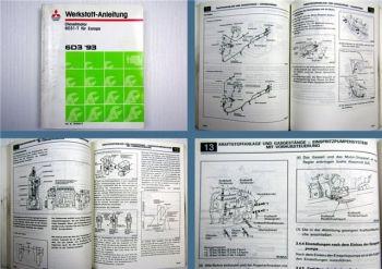 Reparatur Mitsubishi 6D31-T2 1993 Dieselmotor im Canter FH Werkstatthandbuch