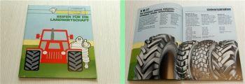 Michelin  Reifen für die Landwirtschaft 1987