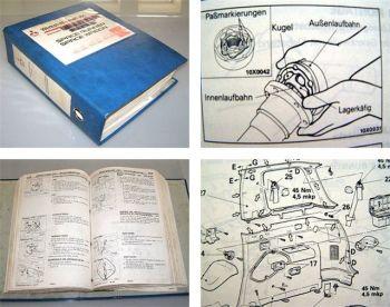 Werkstatthandbuch Mitsubishi Space Runner + Space Wagon 1992 - 1997