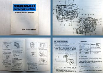 Yanmar 4JH2-DTE Marine Diesel Engine operation manual