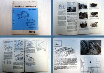 Volvo Penta 740 DP 740 MS5 Motor Werkstatthandbuch 1990