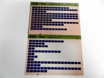 FAI FKI Komatsu PC75-1 Catalogo Ricambi Spare Parts Catalog Microfiche