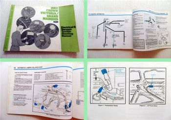 Ford Electrical & Vacuum Trouble Shooting Manual 83 Crown Victoria Grand Marquis
