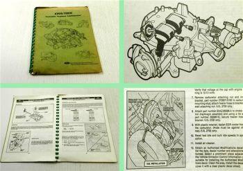 Ford 2700/7200 Variable Venturi Carburetor operators manual 06/1982
