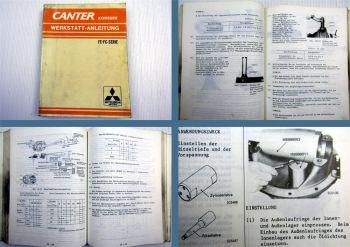 Mitsubishi Canter FE / FC Serie Werkstatthandbuch 1981