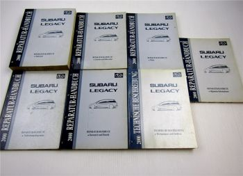 Reparaturanleitung Subaru Legacy 2000 Werkstatthandbuch kompl. Satz