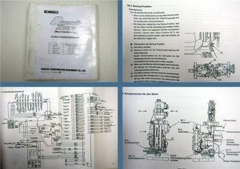 Kobelco SK 210 250 6E LC-6E Dynamic Acera Schulung Schaltpläne 2005