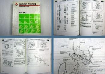 Reparaturhandbuch Mitsubishi Canter FH 1990 Werkstatthandbuch