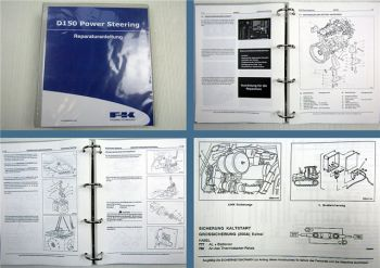 Fiat Kobelco Planierraupe D150 Servolenkung Power Steering Reparaturanleitung