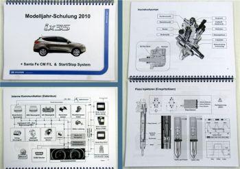 Hyundai iX35 und Santa Fe CM F/L MJ 2010 Kundendienstschulung Service Training