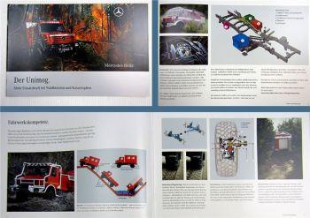 Mercedes Benz Unimog Feuerwehr Prospekt 2008