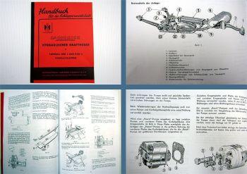 Mc Cormick DED3 DGD4 hydraulischer Kraftheber