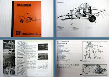 Claas Magnum Hochdruckpresse Betriebsanleitung