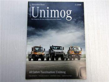 Mercedes Benz Unimog Zeitschrift 2/2008 Magazin Zeitung