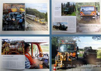 Mercedes Benz Unimog Zeitschrift 1/2007 + 2/2007 Magazin Zeitung