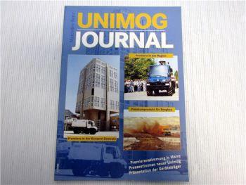 Mercedes Benz Unimog Zeitschrift 1/2000 Magazin Zeitung