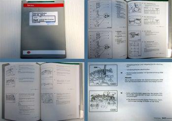 Werkstatthandbuch Audi 100 A6 Typ C4 1,8 L 4-Zyl. Motor Mechanik ADR 125 PS
