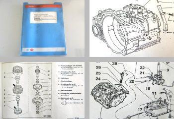 Reparaturleitfaden VW Golf 3 1H Automatikgetriebe 096 Reparaturanleitung 1995